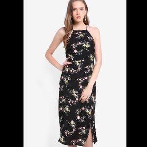 Topshop Dresses - Topshop | Floral lace up back midi maxi dress